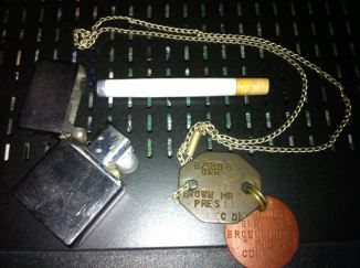 Grandpa's Dog Tags